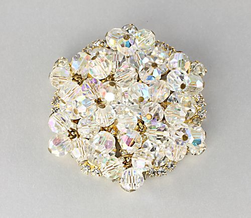 Juliana D&E jewelry Rhinestone Crystal Brooch