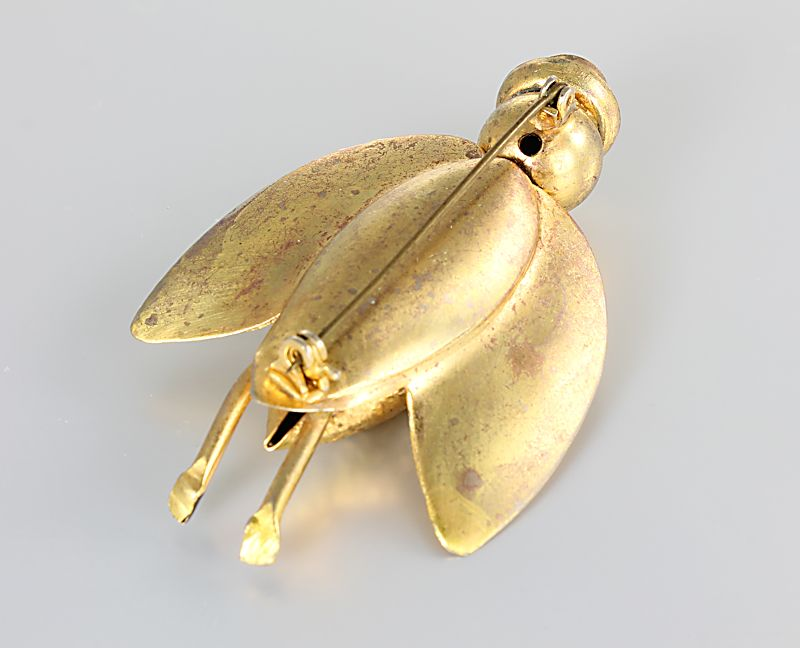 Art Deco Cicada Brooch 1920s jewelry